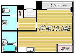 第1ラサハウス[2階]の間取り