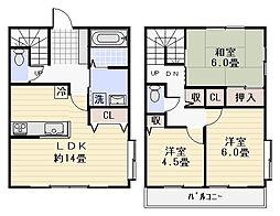 [テラスハウス] 神奈川県逗子市小坪3丁目 の賃貸【/】の間取り