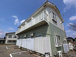 千葉県成田市桜田の賃貸アパートの外観