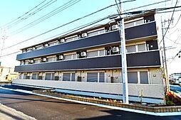 埼玉県春日部市中央8丁目の賃貸アパートの外観