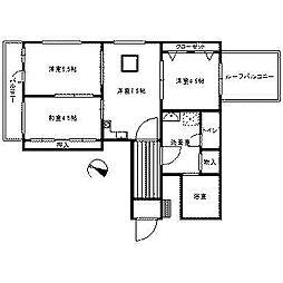 パールビル[3階]の間取り