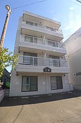 北海道札幌市豊平区平岸四条5丁目の賃貸マンションの外観