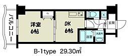ノルデンタワー新大阪[16階]の間取り