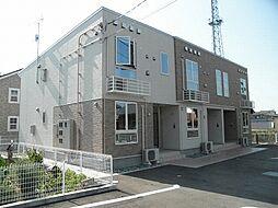 新潟県阿賀野市中島の賃貸アパートの外観