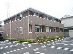和歌山県和歌山市野崎の賃貸アパートの外観