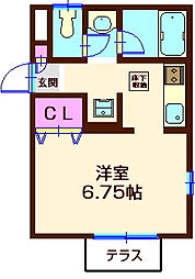 T's house[1階]の間取り