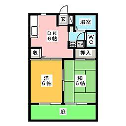 グリーンステージ幸伸 II[1階]の間取り