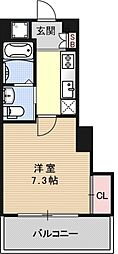 アクアプレイス京都洛南II[A401号室号室]の間取り