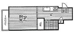 セブンスパークアパートメント[303号室]の間取り