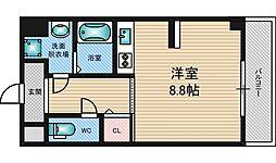 DOクレスト新大阪[3階]の間取り