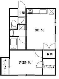 CASA・KOYO[2階]の間取り