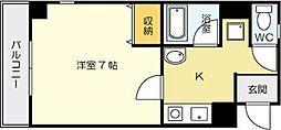 ピアーノ・KM21[403号室]の間取り
