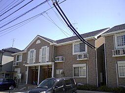 愛知県弥富市平島東3丁目の賃貸アパートの外観