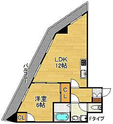 DAIKOマンション[4階]の間取り