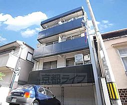 京都府京都市北区紫野西藤ノ森町の賃貸マンションの外観
