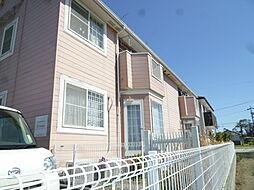 静岡県浜松市浜北区西美薗の賃貸アパートの外観