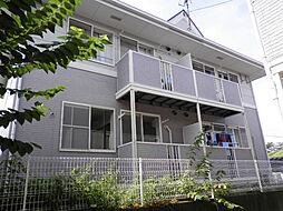 神奈川県平塚市出縄の賃貸アパートの外観