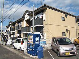 京都府木津川市山城町平尾南払戸の賃貸アパートの外観