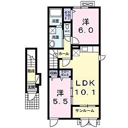 ネクステージ I[2階]の間取り