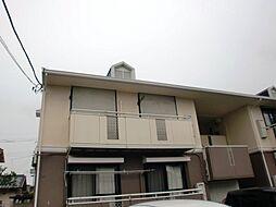 栃木県小山市神鳥谷5丁目の賃貸アパートの外観