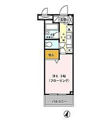 Parthenon2[2階]の間取り