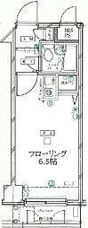 東京都北区滝野川7の賃貸マンションの間取り