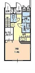 「フジパレスフォンターナII番館」[102 1階号室]の間取り