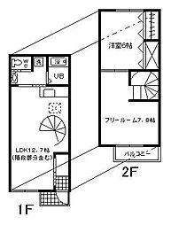 [タウンハウス] 愛知県碧南市塩浜町1丁目 の賃貸【/】の間取り