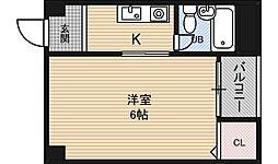 メゾンロレアール[3階]の間取り