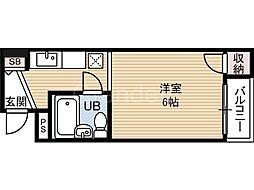 マンション・ルドン[2階]の間取り