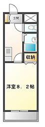 UMEX−7(ユメックス)[2階]の間取り