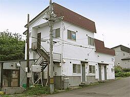 北海道小樽市銭函1丁目の賃貸アパートの外観