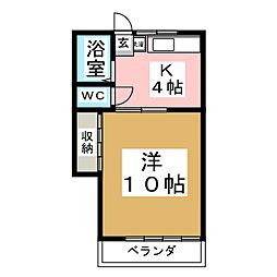 第3庄景荘[2階]の間取り