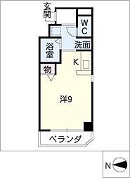 シャルム久屋[6階]の間取り