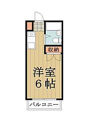 KAZUハイツ[207号室]の間取り