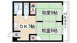 第2柴田ビル[501号室]の間取り