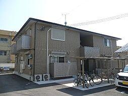 和歌山県和歌山市西小二里1丁目の賃貸アパートの外観