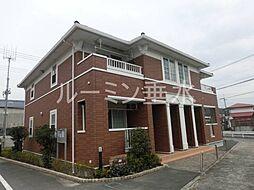 兵庫県洲本市宇原の賃貸アパートの外観