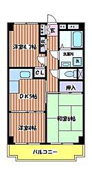 T´s garden HITOTSUBASHI GAKUEN[3階]の間取り