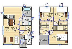 [一戸建] 埼玉県深谷市緑台 の賃貸【/】の間取り