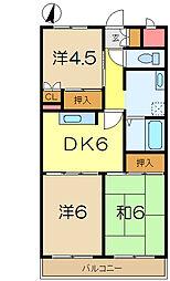 糸川マンション[1階]の間取り