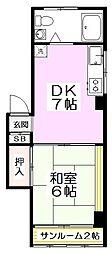 10671[4階]の間取り