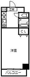 ラ・シャンセ吉野町[5階]の間取り