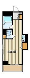 間取り,ワンルーム,面積19.87m2,賃料7.2万円,JR山手線 池袋駅 徒歩13分,東京メトロ有楽町線 要町駅 徒歩5分,東京都豊島区西池袋3