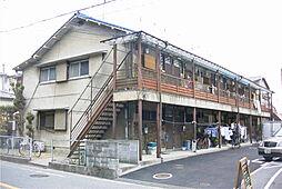 大阪府吹田市長野西の賃貸アパートの外観
