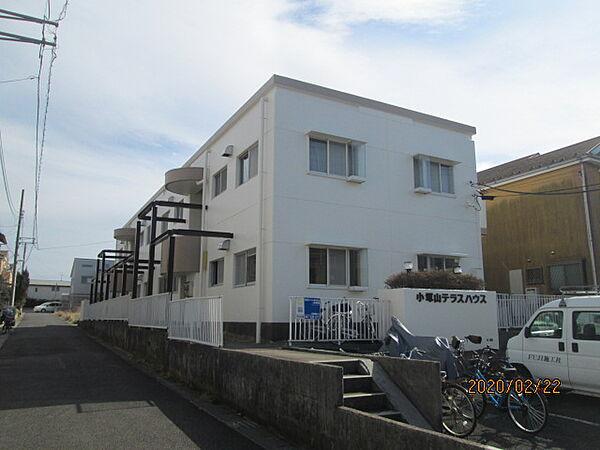 小塚山テラスハウス[205号室]の外観