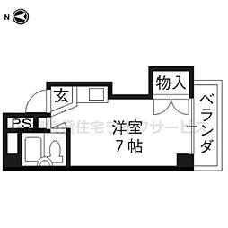 シエール西の京[2階]の間取り