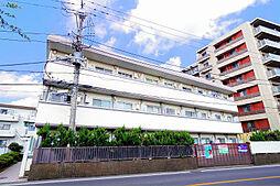 埼玉県新座市新堀3丁目の賃貸マンションの外観