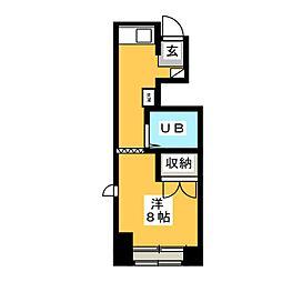 メゾン栄和[3階]の間取り