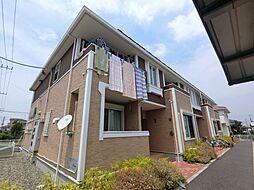 千葉県市原市五所の賃貸アパートの外観